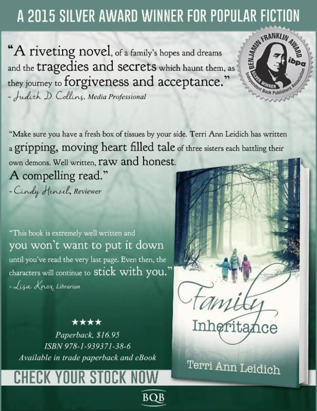 Family inheritance terri ann leidich bqb publishing to confront their demons as their mother lies dying will they be able to tread through the wreckage of the past to create lives filled with hope love fandeluxe Images